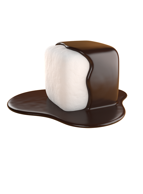 mallow puffs vegan vanilla bean marshmallows dunked in belgian dark chocolate